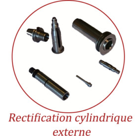 Rectification cylindrique externe