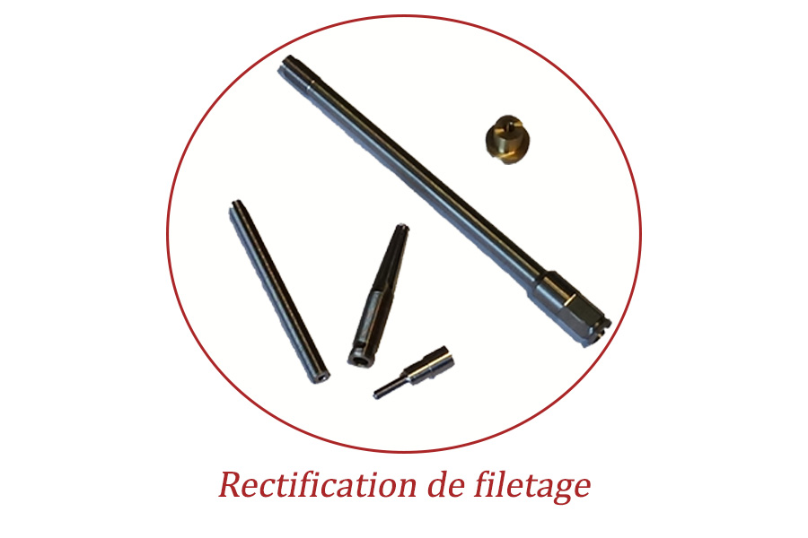 Rectification cylindrique filetage
