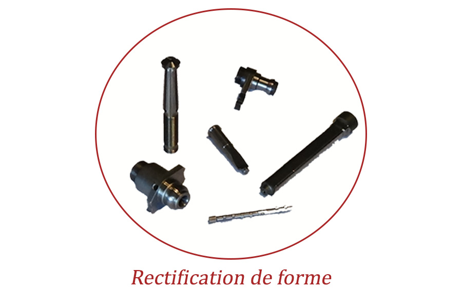 Rectification cylindrique forme
