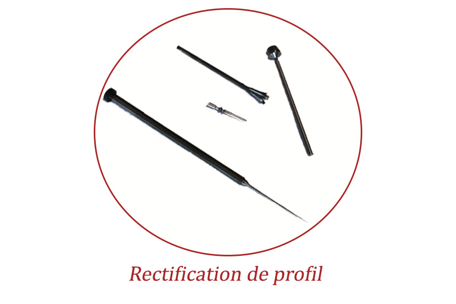 Rectification cylindrique profil